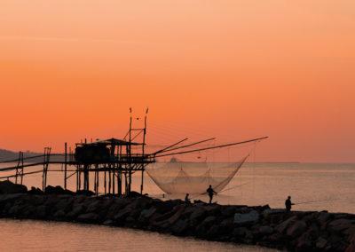 Trabocco Punta Tufano a Rocco San Giovanni. Foto di Antonio Martorella.