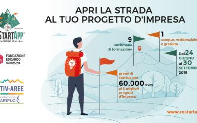 ReStartApp per i cammini italiani | Aperto il bando per il campus 2019