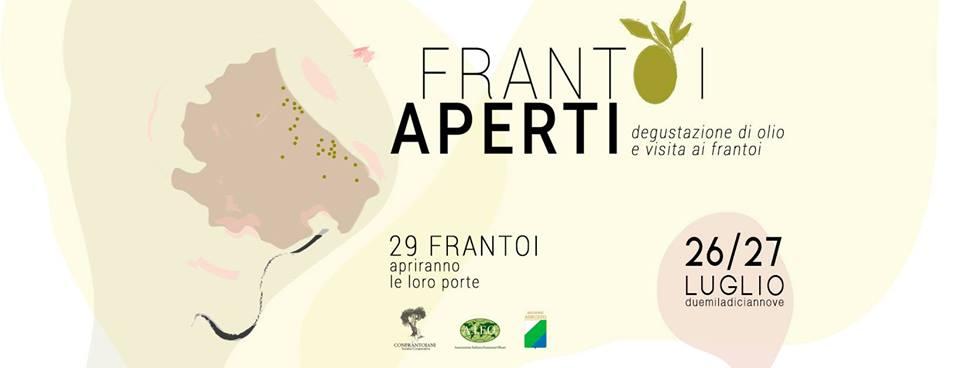 Frantoi Aperti d'Abruzzo 26-27 luglio 2019