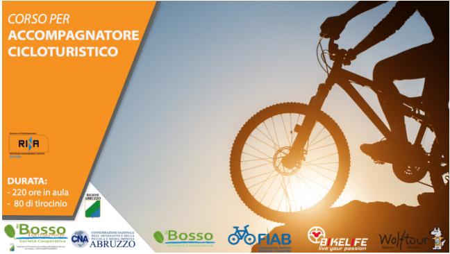 Partono i corsi per accompagnatore cicloturistico in Abruzzo