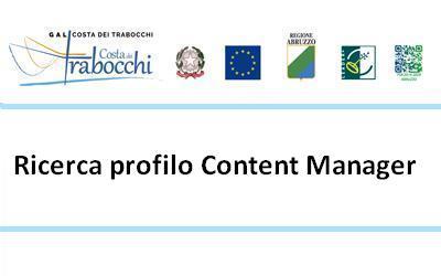 Gal Costa dei Trabocchi: ricerca profilo Content Manager